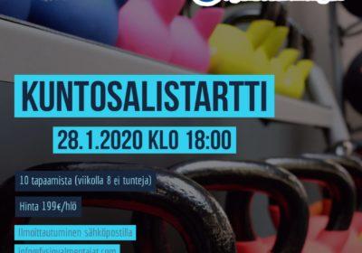 Pienryhmävalmennusta Espoossa. 2 paikkaa jäljellä!